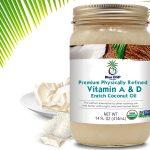 2Premium Physically Refined Vitamin A & D EnrichCoconut Oil